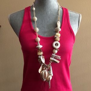 "Chico's 30th Anniversary 30"" Shell Necklace"